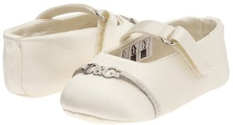 D&G Ballerina - LPDZB2 (Infant) (White) - Footwear