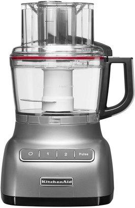KitchenAid 2.1L Contour silver food processor