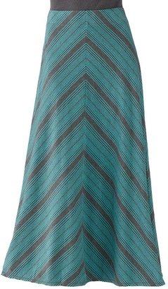 Sonoma life + style striped a-line maxi skirt - petite