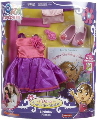 Fisher-Price Dora Dress Up Collection Fashions - Birthday Fiesta
