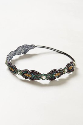 Anthropologie Jeweled Darta Headband