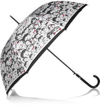 Lanvin Large face-print umbrella