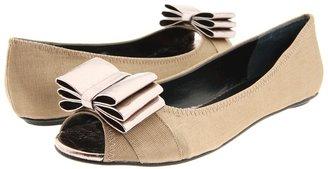 Beverly Feldman Folli Flat (Bronze/Pewter) - Footwear