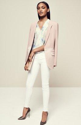 J Brand '2311 Maria' High Rise Skinny Jeans (Blanc)