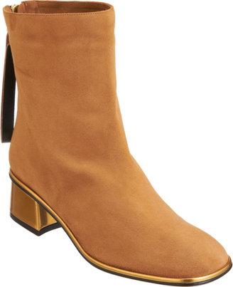 Marni Square Toe Ankle Boot