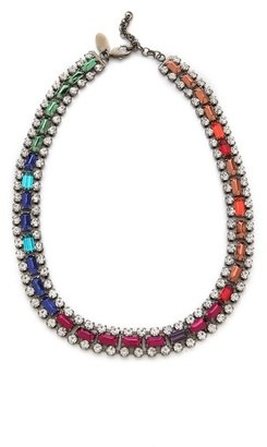 Iosselliani Multicolor Rhinestone Collar