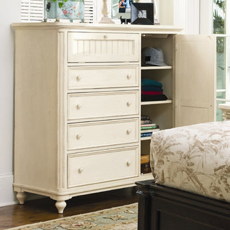 Paula Deen Home Steel Magnolia 4 Drawer Gentleman's Chest