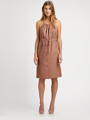 See by Chloe Leather Dress