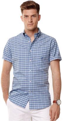 Nautica Shirt, Short Sleeve Plaid Shirt