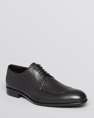 HUGO BOSS Brokin Leather Wingtip Oxfords