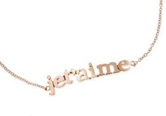 Jennifer Meyer JeT'aime Bracelet - Rose Gold