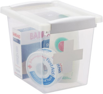 Container Store First Aid Box Translucent