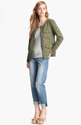 Caslon Knit Cargo Jacket