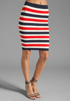 Juicy Couture Atlantic Stripe Skirt in Siren/Angel/Regal