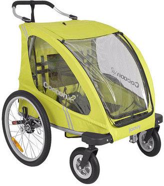 Joovy CocoonX2 Enclosed Double Stroller - Greenie