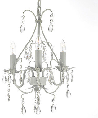 Bed Bath & Beyond Wrought Iron Crystal Chandelier