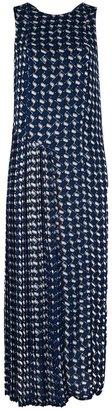 Kenzo basket weave print dress