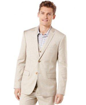Perry Ellis Men's Texture Suit Jacket