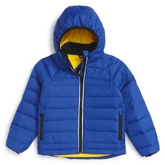 Toddler Girl's Canada Goose 'Bobcat' Packable Down Coat $395 thestylecure.com