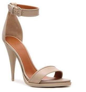 Givenchy Leather Ankle Strap Sandal