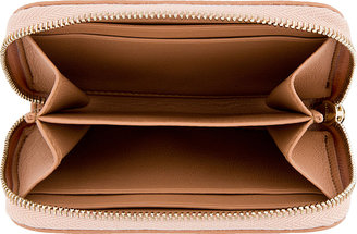 Givenchy Pink Lambskin Zippered Card Holder