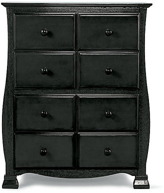 Savanna 4-Drawer Chest - Black