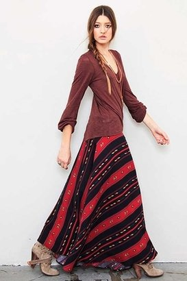 Blu Moon Wrap Skirt in Navajo Tencel