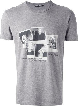 Dolce & Gabbana 'Marilyn Monroe' printed t-shirt