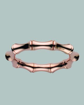 Gucci Bamboo Spring Bracelet, Rose Gold