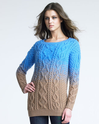 DSquared DSquared2 Two-Tone Knit Sweater