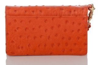 Brahmin Debi Wallet Prawn Normandy