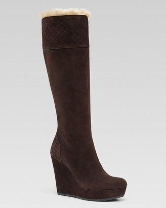 Gucci Courteney Wedge Boot