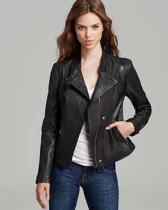 Andrew Marc Leather Jacket - Italian Mixed Media