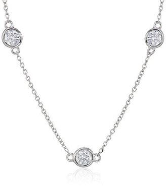 "Myia Passiello ""Infinity"" Swarovski Zirconia Round Necklace $159 thestylecure.com"