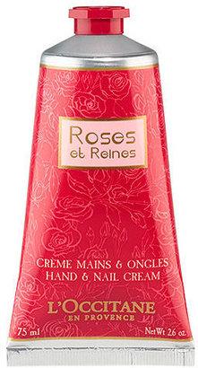 L'Occitane en Provence Roses et Reines Hand and Nail Cream 2.6 oz (77 ml)