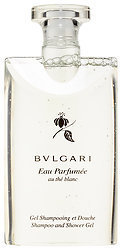 Bvlgari Eau Parfumée Au Thé Blanc Shampoo And Shower Gel