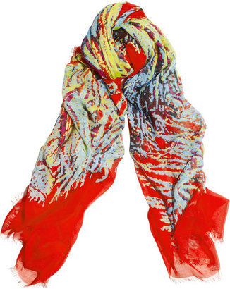 Marc by Marc Jacobs Printed modal scarf