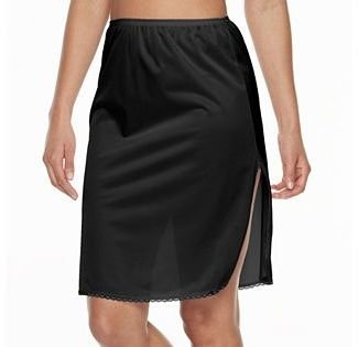Vanity Fair® Satin GlanceTM Slit Pettislip - 22-in. - 11760 $17 thestylecure.com