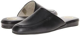 L.B. Evans Duke Scuff (Black Leather) Men's Slippers
