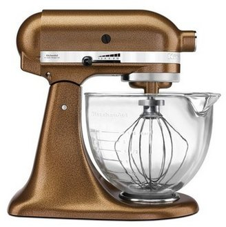KitchenAid Platinum Collection Stand Mixer - Antique Copper KSM156