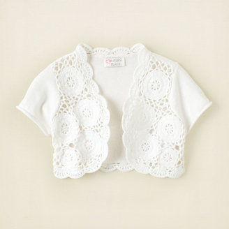 Children's Place Crochet shrug
