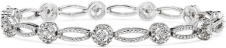 FINE JEWELRY 1/10 CT. T.W. Diamond Oval & Round Bracelet $208.32 thestylecure.com