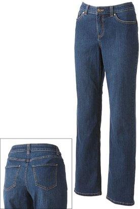 Croft & barrow ® curvy straight-leg jeans - women's