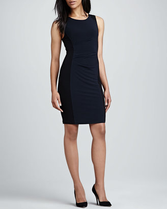 Graham & Spencer Sleeveless Stretch-Jersey Dress