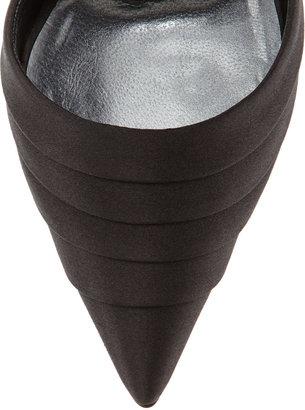 Manolo Blahnik Reya Leaf-Tie d'Orsay Pump