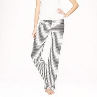 J.Crew Dreamy cotton pant in stripe