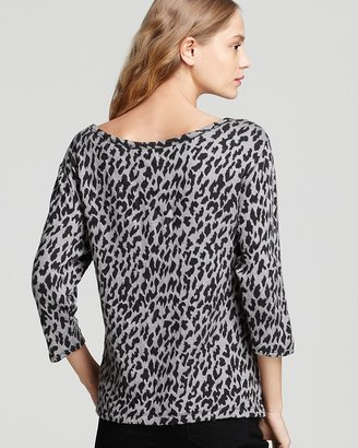 Joie Sweater - Shina Leopard Print
