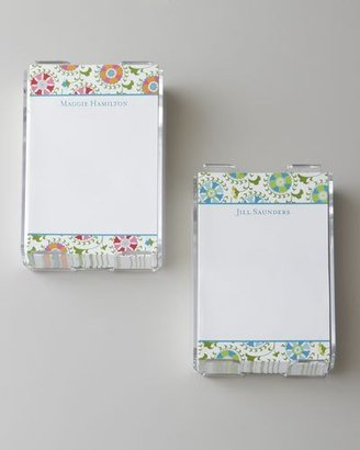 Boatman Geller Suzani Note Paper with Holder
