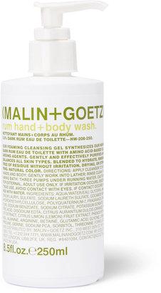 Malin+Goetz Rum Hand + Body Wash, 250ml