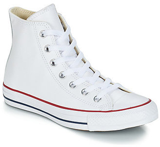 Converse LEATHER HI women's Shoes (High-top Trainers) in White